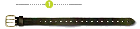 Measurement (belts)